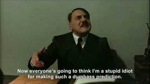 Hitler is informed it got over 9000