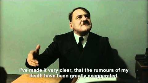 Hitler encounters the Dramatic Cat