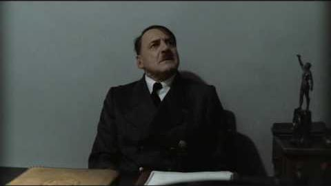 Hitler is informed he is dead