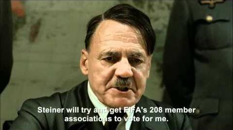 Hitler plans to run for FIFA president