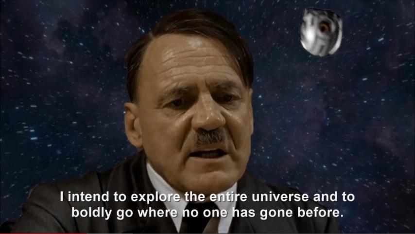 Hitler plans to explore space   Hitler Rants Parodies Wiki ...