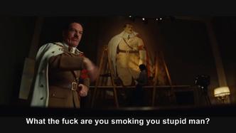Hitler phones Inglourious Basterds Hitler
