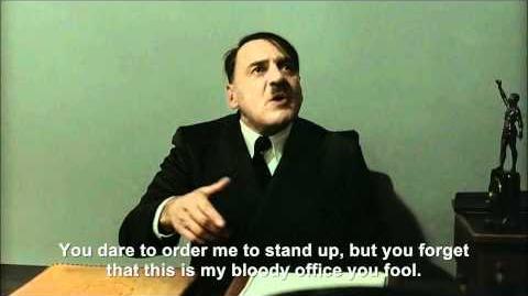 Hitler angers The Bunker Hitler