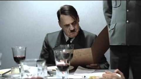 Hitler is informed Himmler did not unclog his toilet