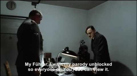 Hitler is asked to unblock a Downfall Parody