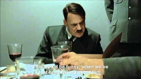 Hitler is informed Osama Bin Laden has been found and killed