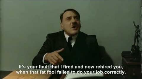 Hitler fires and rehires Günsche