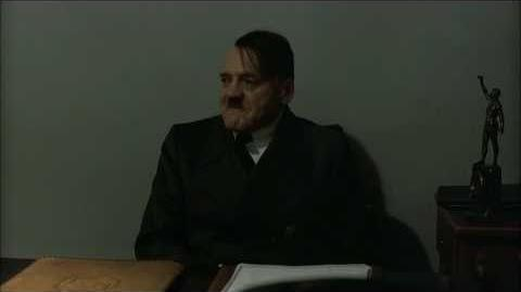 Hitler is informed Russia will host the 2018 FIFA World Cup