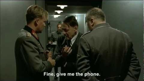 Hitler phones George W