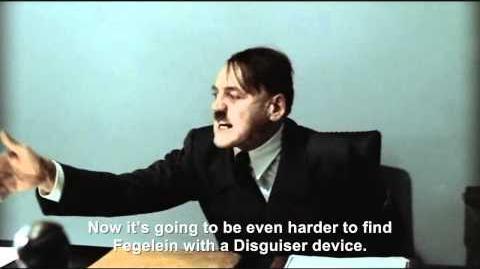 Hitler is informed Fegelein has stolen a Disguiser device
