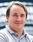 Linus Torvalds (cropped)