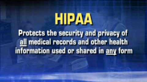 Privacy & Security The New HIPAA Rule