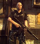 AR-15 в руках ГГ