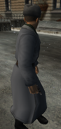 Пистолет .54 в руках NPC-1
