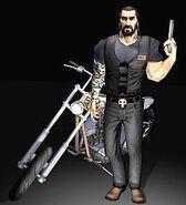 Rutger and his bike