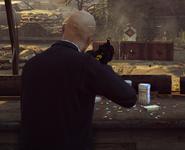 HX UMP Агентства неприцельная стрельба