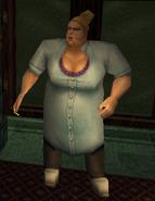 Охранница женской раздевалки