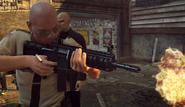 HX AR-15 у полицейского