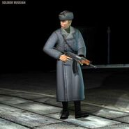Russian Soldier Silent Assassin