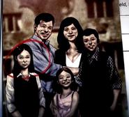 Diana's early family photo