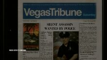 Anthony Martinez on the front cover of the Vegas Tribune.