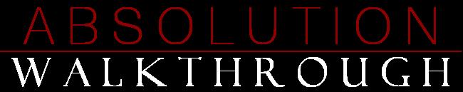 Absolution Walkthrough Banner