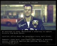Tyler mission details