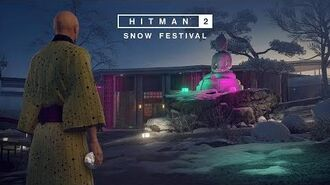 HITMAN 2 - Snow Festival Trailer