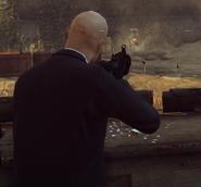 HX UMP неприцельная стрельба