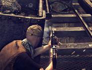 AR-15 стрельба из укрытия
