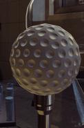 Бомба в мяче для гольфа