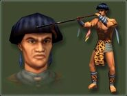 U'wa tribesman concept-art