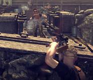 Стрельба с ARZ из укрытия