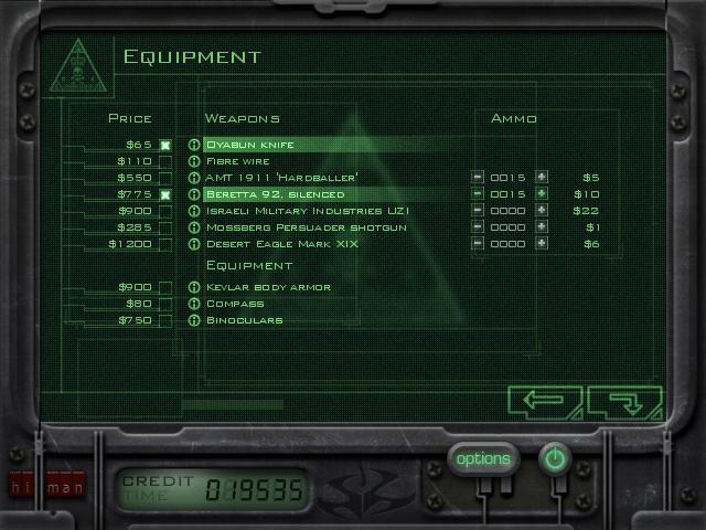 C47 Mission 4 Equipment