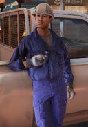 Hantu Port Worker