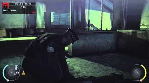Hitman Absolution Gameplay 7 HD Run For your Life - Shangri-la - Train Station-0