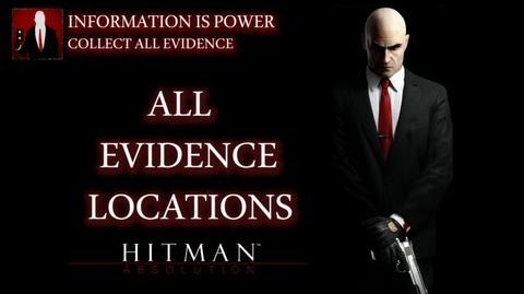 Hitman Absolution - All Evidence Locations (Information is Power Trophy Achievement Guide)