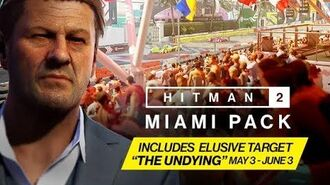 HITMAN 2 - Miami Pack Trailer