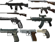 Weapons Render