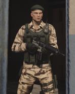 Fusil G1-4C в руках ГГ