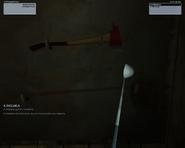 Клюшка для гольфа в инвентаре (Silent Assassin)