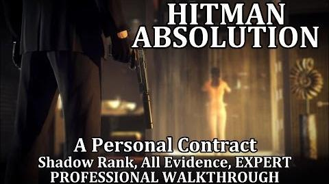 Hitman Absolution (Prologue) A Personal Contract - PRO-0