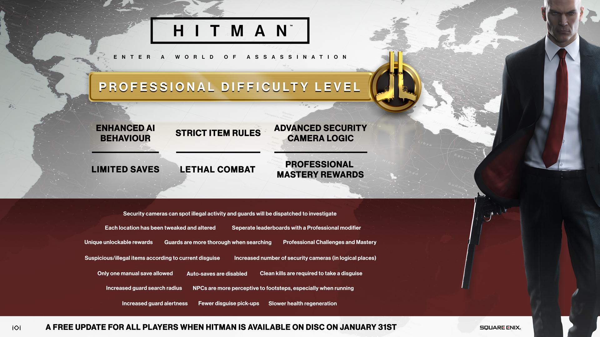Difficulty Level Hitman Wiki Fandom