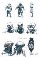Ninja concept art