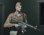 Fusil G1-4 в руках ГГ