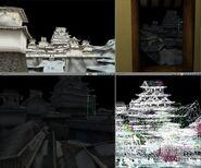 3D model of Katsuyama Castle