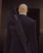 TAC-4 AR Stealth за спиной ГГ