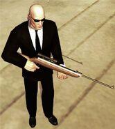 Пневматическая винтовка 1