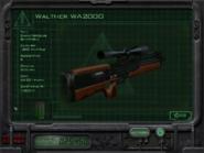 Walther WA2000 в брифинге