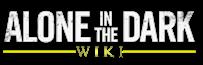 LogoWiki alone in the dark